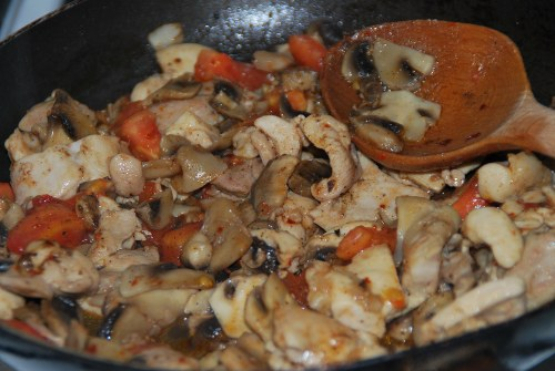 Milföyde Mantarlı Tavuk Tarifi - Milföyde Mantarlı Tavuk Yapılışı