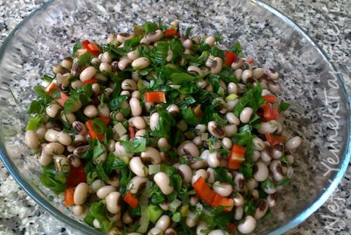 Kuru borulce salatası