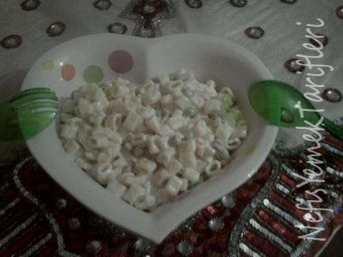 Makarna salatas� tarifi
