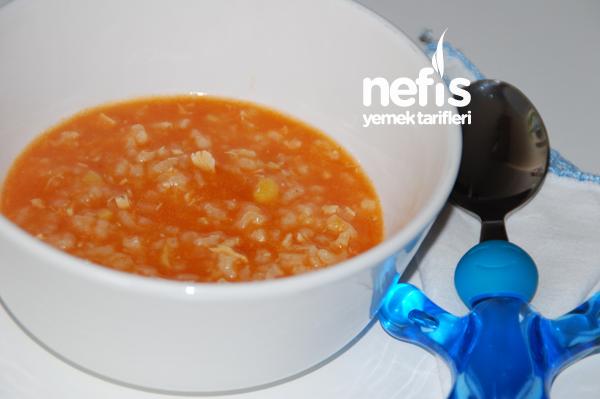 Bebekler İçin Pirinç Çorbası