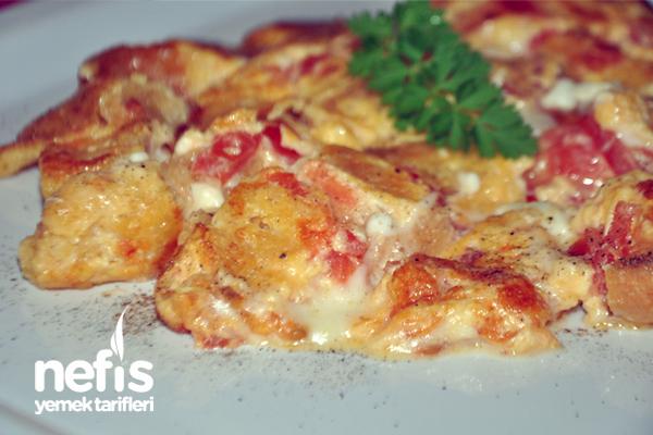 ekmekli omlet tarifi